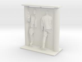 Printle Visions Mirror - H002 - 1/24 in White Natural Versatile Plastic