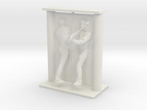 Printle Visions Mirror - H001 - 1/24 in White Natural Versatile Plastic