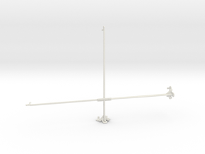 Samsung Galaxy View2 tripod & stabilizer mount in White Natural Versatile Plastic
