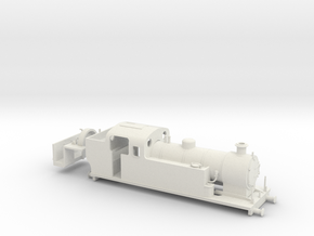 G Maunsell Tank 1 in White Natural Versatile Plastic