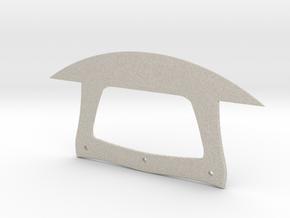Ulu Knife in Natural Sandstone