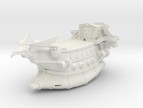 WOW Alliance Gunship Skyfire (Part1/2) in White Natural Versatile Plastic