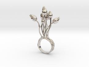 Tunla - Bjou Designs in Rhodium Plated Brass