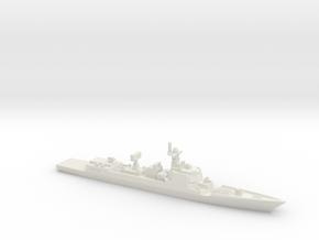 Type 052DL Destroyer, 1/2300 in White Natural Versatile Plastic