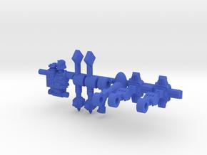 Hacker Microclone Driver in Blue Processed Versatile Plastic