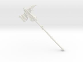 Miniature Champions Cudgel - 10cm in White Natural Versatile Plastic