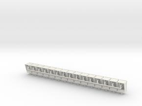 1:22,5 1505 Waarschuwingslamp TRAM (15x zelfbouw) in White Natural Versatile Plastic