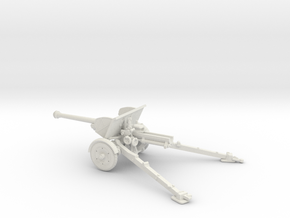 1/72 IJA Type 90 75mm Field Gun in White Natural Versatile Plastic
