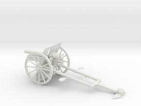 1/35 IJA Type 41 75mm Mountain Gun in White Natural Versatile Plastic