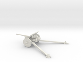 1/56 IJA Type 1 47mm anti-tank gun in White Natural Versatile Plastic