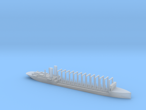 1/1800 Scale AC-3 USS Jupiter 1913 Collier in Smooth Fine Detail Plastic