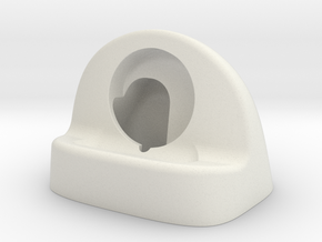 38mm iWatch Stand in White Natural Versatile Plastic