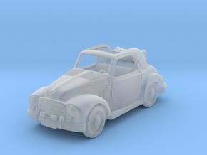 Fiat Topolino 1950 1:87 HO in Smooth Fine Detail Plastic