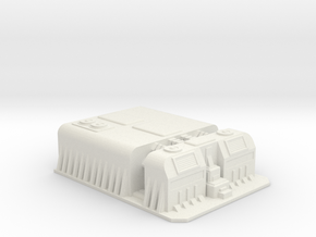 Sci fi factory/military compound in White Natural Versatile Plastic