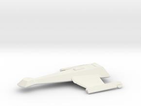Klingon k-23 in White Natural Versatile Plastic