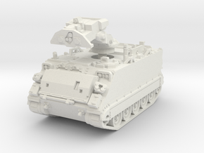 M901 A1 ITV (retracted) 1/76 in White Natural Versatile Plastic