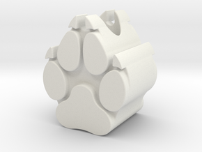 PAWPER BEAD Wolf Pack EDC in White Natural Versatile Plastic