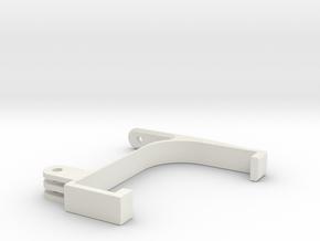 Filamentguide For Flashforge Finder in White Natural Versatile Plastic