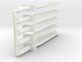 FF Seven Fusion Sword - 6cm - 5x in White Natural Versatile Plastic
