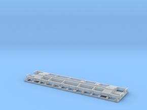 HOn3 USG Modernized Koppel Flat Car Frame in Smooth Fine Detail Plastic