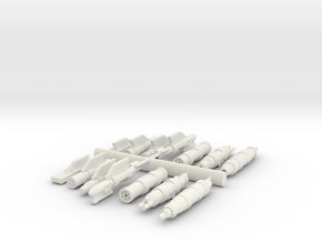 144 hawk weapons options in White Natural Versatile Plastic