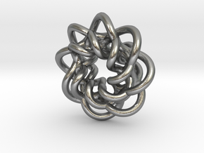 braided_charm in Natural Silver