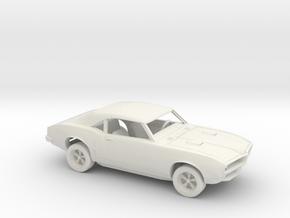 1/72 1967-68 Pontiac Firebird Kit in White Natural Versatile Plastic