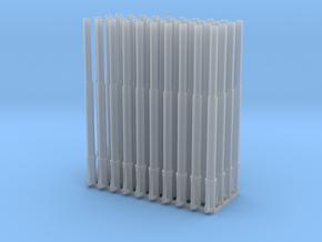 1:87 1585 BVL-mast NIR NIK sokkel enkel S&H (40x) in Smooth Fine Detail Plastic