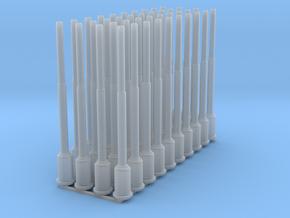 1:87 1588 BVL-mast met ronde sokkel (40x zelfbouw) in Smooth Fine Detail Plastic
