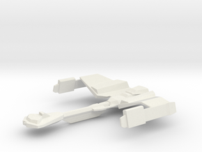 Klingon Bloodwing Class in White Natural Versatile Plastic