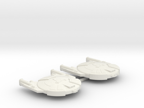 3788 Scale Andromedan Viper and Cobra SRZ in White Natural Versatile Plastic