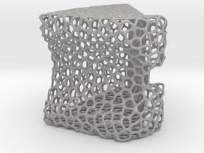 Lattice Structured Phone Stand in Aluminum