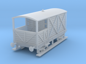 a-100-gwr-L355-1886-brake-van in Smooth Fine Detail Plastic