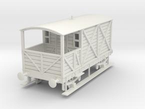a-43-gwr-kesr-1886-brake-van in White Natural Versatile Plastic