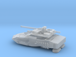 Leopard-2E-72-Torre-piezas in Smooth Fine Detail Plastic