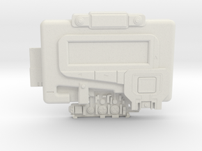 Marvel Nick Fury Pager - 1:6 in White Natural Versatile Plastic