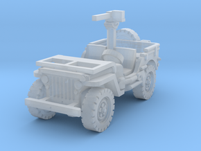 Jeep Willys 30 cal (window down) 1/200 in Smooth Fine Detail Plastic