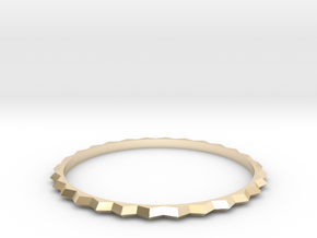 [1DAY_1CAD] BRACELET_type1 in 14k Gold Plated Brass