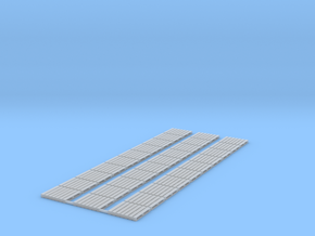 1:72 Scale Pallets  (30x) in Smooth Fine Detail Plastic