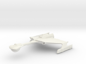 Klingon D6 From Axanar in White Natural Versatile Plastic
