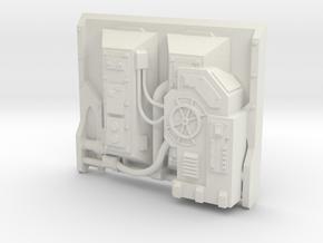 AnphelionBase_InnerPanel_5 in White Natural Versatile Plastic