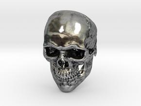 Mammoth Skull Ring! in Antique Silver