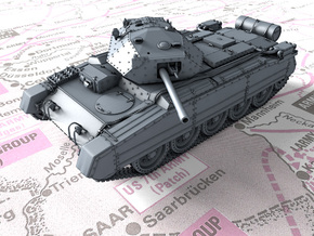 1/87 (HO) British Crusader Mk III Medium Tank in Smooth Fine Detail Plastic