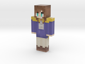 fixed hat | Minecraft toy in Natural Full Color Sandstone