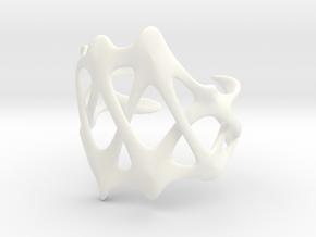 CARPAL CUFF in White Processed Versatile Plastic: Large