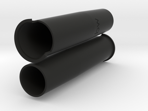 Conversion Breech Tube for Airsoft Hwasan-APS in Black Natural Versatile Plastic: Extra Large
