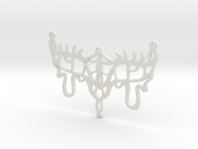 :Bloodsong: Pendant in White Natural Versatile Plastic