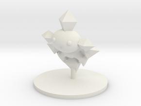 Elemental - Radiant Lord in White Natural Versatile Plastic