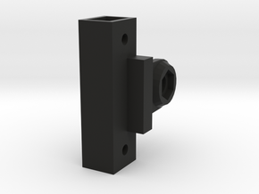 Spektrum DX5C Rugged GoPro Mount in Black Natural Versatile Plastic
