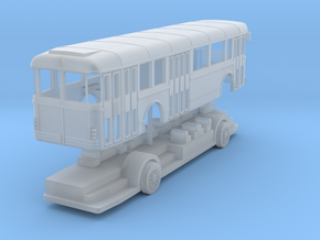 bus sc10 in Smoothest Fine Detail Plastic